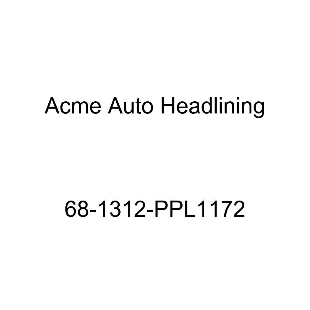 Cadillac Eldorado 2 Door Hardtop 6 Bow Acme Auto Headlining 68-1312-PPL1172 Brown Replacement Headliner