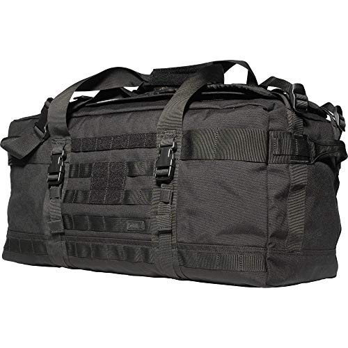 5.11 Tactical Rush LBD Lima Rush LBD Lima Molle Tactical Duffel Bag Backpack, Style 56294, Black, One Size