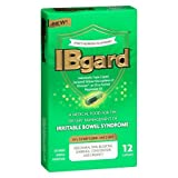 Ibgard 90miligrams Ultra Purified Peppermint Oil for Irritable Bowel Syndrome (IBS) 12 Count