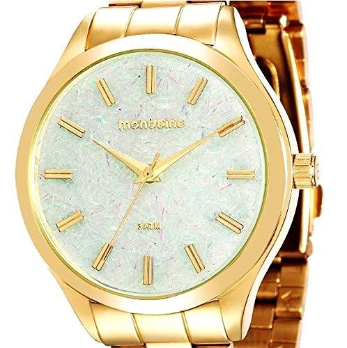 Relógio Mondaine Feminino Folhado Fashion 76614Lpmvde2