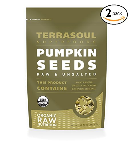Terrasoul Superfoods Organic Pumpkin Seeds, 4 Pounds