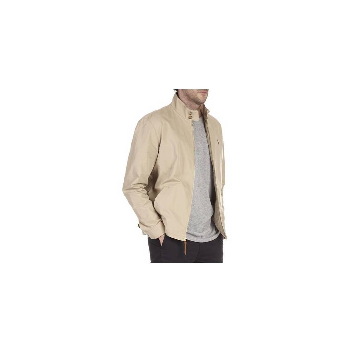 Polo Ralph Lauren - Abrigo - para hombre beige XL: Amazon.es: Ropa ...