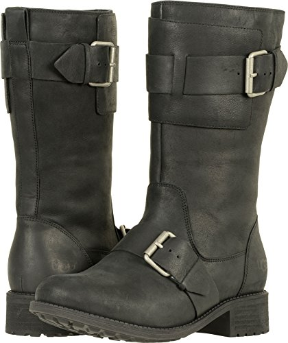 UGG Womens Chancey Riding Boot Black Size 7