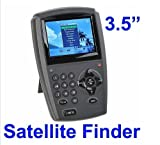 SHINA 3.5'' LCD Handheld Digital Satellite Signal Finder Meter DirecTV Dish FTA LNB Sat