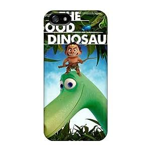 SherriFakhry Iphone 5/5s Shockproof Phone Cover Customized Lifelike The Good Dinosaur Series [umb2217wolf]