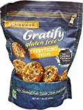 2 Packs of Gratify Gluten Free Everything Thins Pretzels (Net Wt 24 .64 OZ Per Unit)
