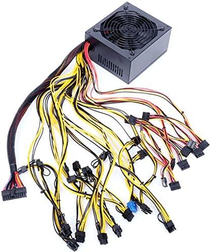 Banwei 1800/2000W Modular Mining Power Supply Bitcoin Mining Machine Power PSU for 8 GPU ETH Rig Ethereum Miner 160-240V
