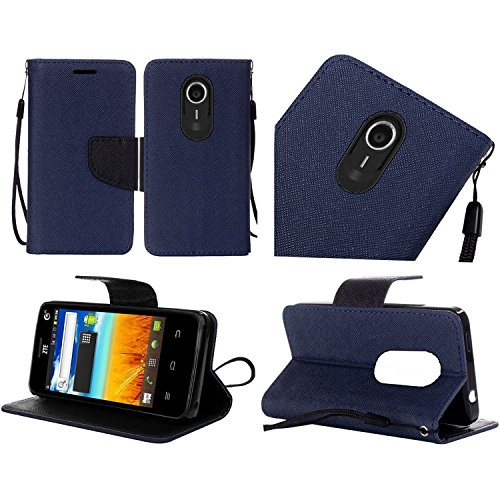 HR Wireless Cell Phone Case for ZTE Ultra N817 Uhura Quest Wallet Covers -...