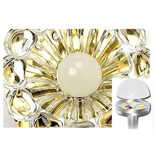 Zehui LED Ceiling Lamp for Hallway Bedroom Kitchen Decor Modern Colorful 5W Crystal Chandelier by Zehui (Image #3)
