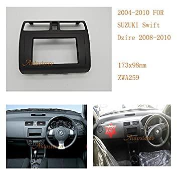 Double Din Car CD Stereo Fitting Kit Fascia Steering Control For SUZUKI Swift