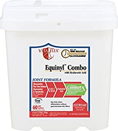 Vita Flex Equinyl Combo with Hyaluronic Acid Joint Formula Horse Supplement, 60 Day Supply, 3.75 Pounds