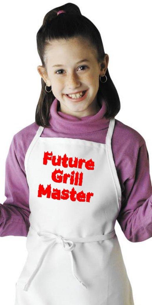Future Grill Master Cute Kids BBQ Aprons