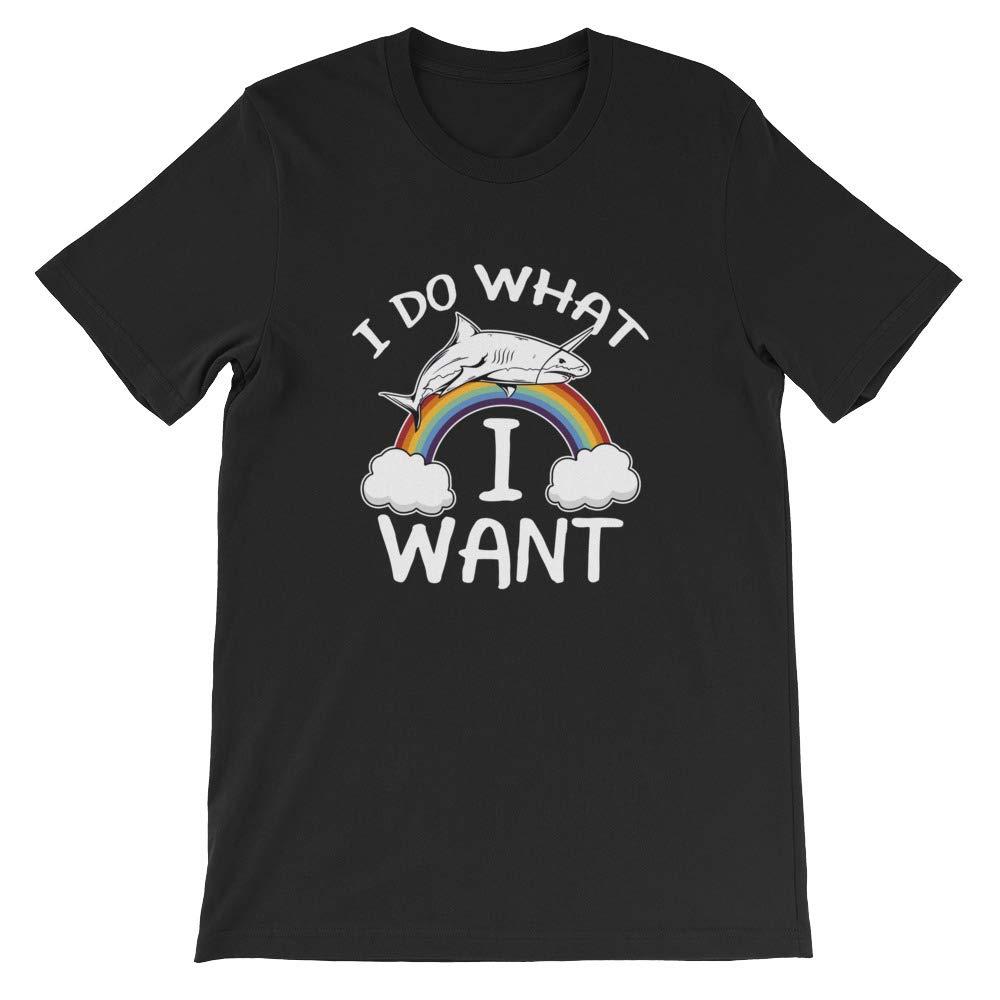 I Do What I Want T-Shirt Graphic Shirts Funny Unisex Shirt