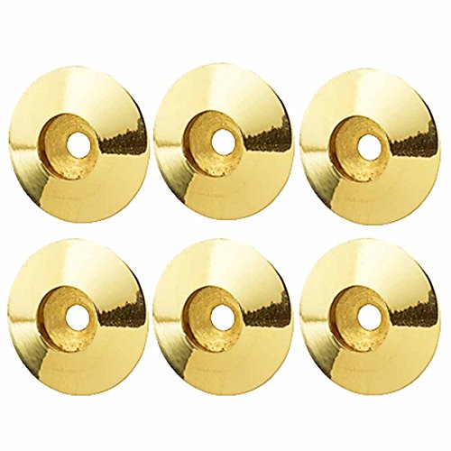Renovators Supply Manufacturing Brass Cabinet Knob Rosette Backplate Traditional 1 1/4