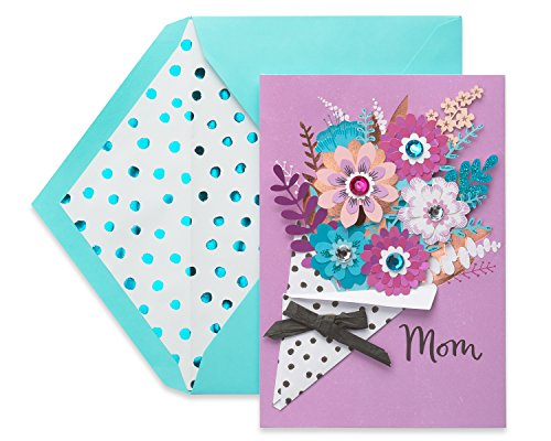 American Greetings Premier Bouquet Mother's Day Greeting Card with Rhinestones ()