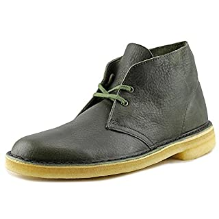 CLARKS Men's Desert Boot Green Leather Boot (B012Z1CNQK) | Amazon price tracker / tracking, Amazon price history charts, Amazon price watches, Amazon price drop alerts
