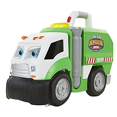 Real Workin Buddies: Mr. Dusty The Super Duper Toy Eating Garbage Truck from Jakks