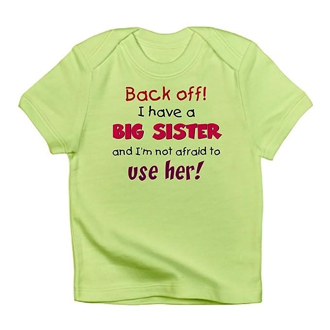 057a4f331 Amazon.com  CafePress - Have A Big Sister - Cute Infant T-Shirt