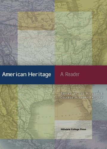 American Heritage: A Reader - Shopping Hillsdale