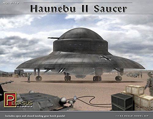 (Pegasus Hobbies Haunebu II Saucer 1/144th Scale Model Kit)