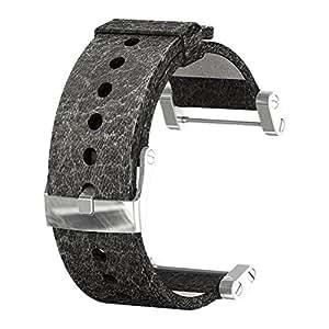 Suunto Core Leather Black Matt Strap - Correa para relojes, color negro