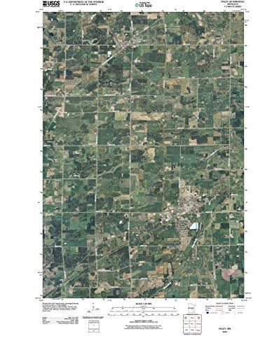 Minnesota Maps | 2010 Foley, MN USGS Historical Topographic