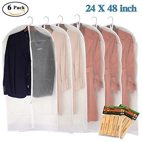 moth proof garment bags - 1