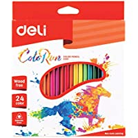 Deli Ec00120 Coloured Pencil Clean And Flat Edge After Cutting For Safe Use
