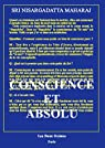 Conscience et Absolu par Maharaj