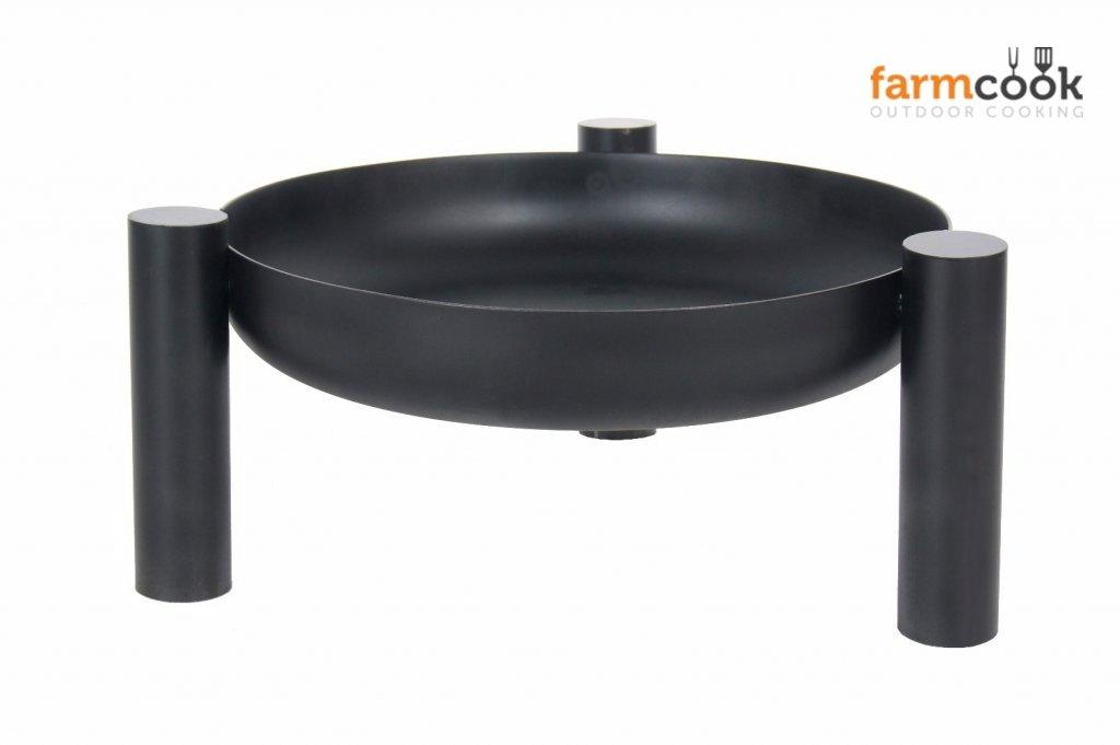 Feuerschale Nortpol Farmcook Modell Pan38 breite 80 cm, Höhe 30 cm Höhe 30 cm E00280