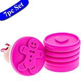 Cookie Stamps - 7pce Cookie Cutter Set By purpledink - 2.6