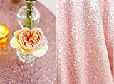 ShinyBeauty Aisle Runner-30FTX4FT-Pink,Aisle Runner 30ft,Carpet Aisle Runner,Sequins Fabric,Handmade Aisle Runner