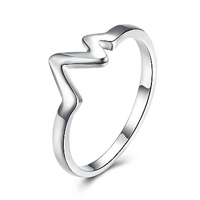comprar baratas 54378 5550b Anillo de compromiso, elegante, para mujer, joyería ...
