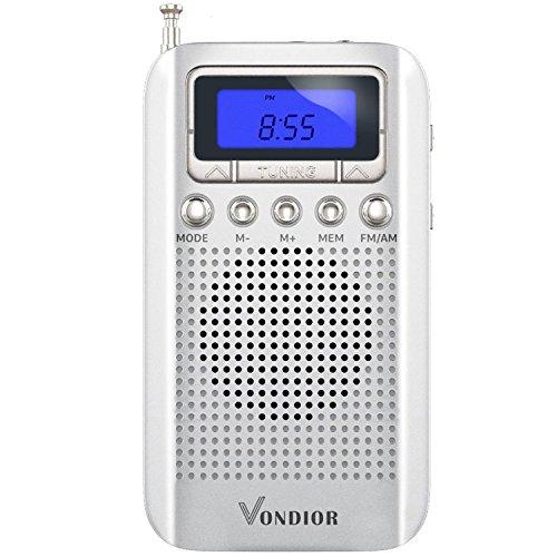 digital am fm pocket radio - 5