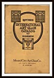 International Art Glass Catalog - Domestic: Showing Designs of the Highest Grade of Art Glass.  Art Nouveau Patterns Also Clear Leaded, Beveled Plate & Mitred Cut Glass
