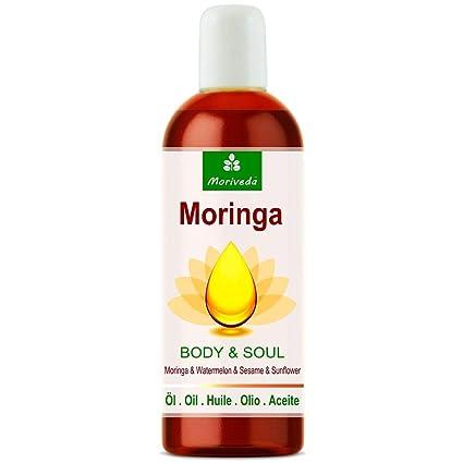 Aceite de Moringa Body & Soul (Cuerpo y Alma) aceites 100% prensados en