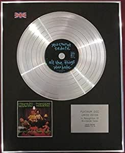 MARILYN MANSON - Limited Edition CD Platinum Disc - PORTRAIT OF AN AMERICAN FAMILY