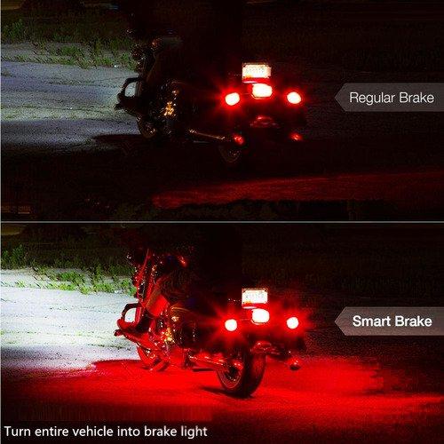 6 bandes 18 couleurs RVB Neon Light Kit d/éclairage LED avec t/él/écommande Kit d/éclairage LED pour moto