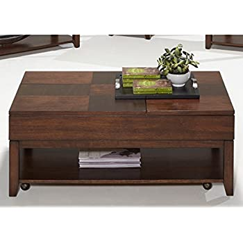 Amazoncom Double LiftTop Cocktail Table Kitchen Dining - Double lift top cocktail table