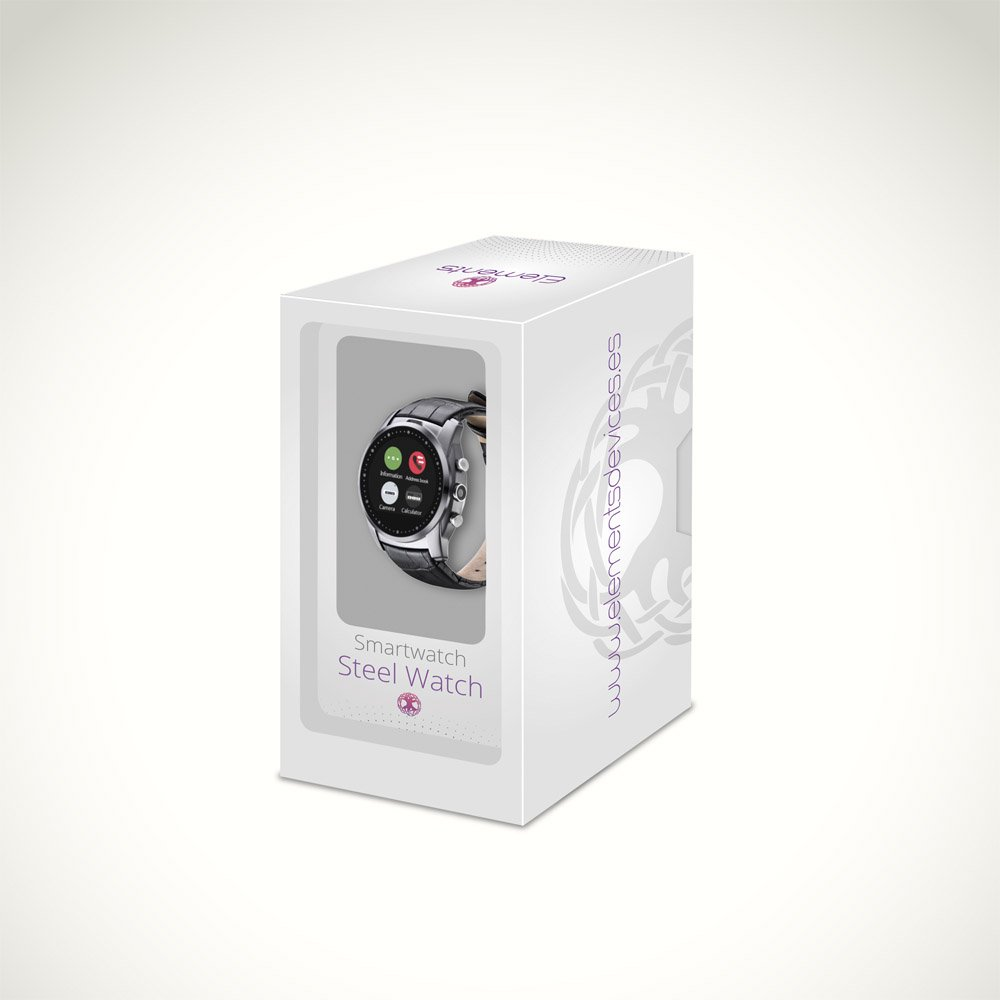 Smartwatch ELEMENTS Steel Watch: Amazon.es: Electrónica