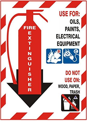 Fire Extinguisher Use For Oils Paints Electrical Equipment