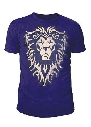 World of Warcraft - Herren Premium T-Shirt - Alliance Logo (Navy Blau) (S-XL)