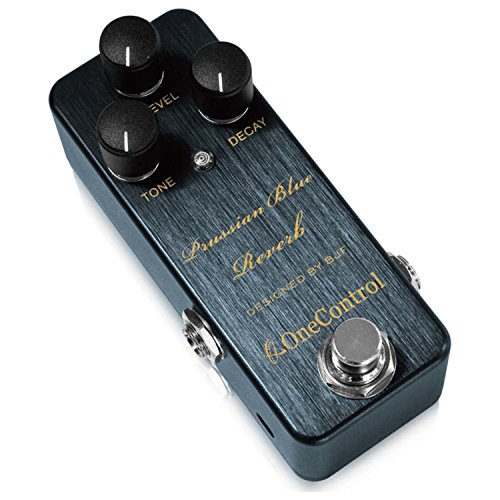 Reverb Control - One Control Prussian Blue Reverb Effects Pedal