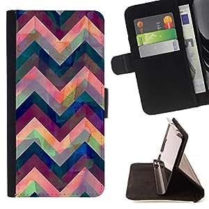 For LG G4 Stylus / G Stylo / LS770 H635 H630D H631 MS631 H635 H540 H630D H542 Case , Iridiscente azul rosado púrpura- la tarjeta de Crédito Slots PU Funda de cuero Monedero caso cubierta de piel
