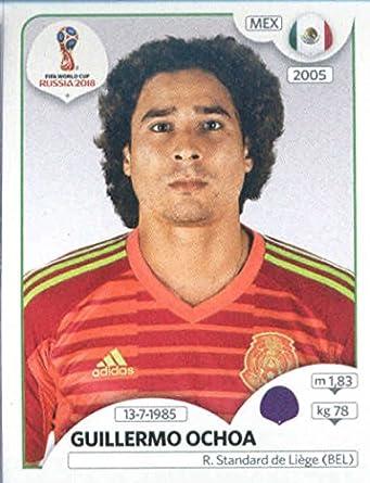 2018 Panini World Cup Stickers Russia  454 Guillermo Ochoa Mexico Soccer  Sticker 00a48bbaf