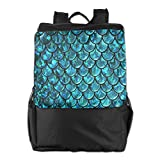 Louise Morrison Mermaid Tails Abstract Women Men Laptop Casual Business Travel Backpack College School Bookbag