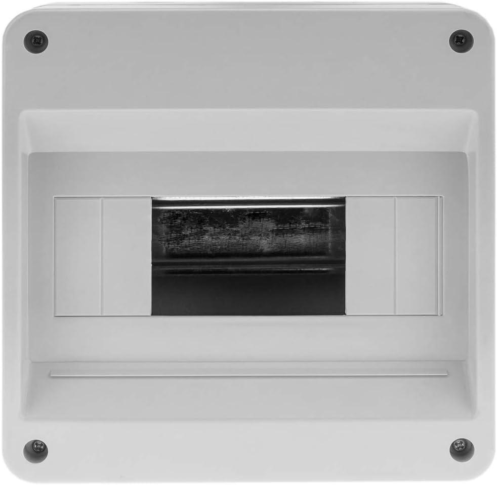 Bo/îtier de Surface dautomatisation /électrique pour 8 modules en Plastique ABS de 18 mm BeMatik