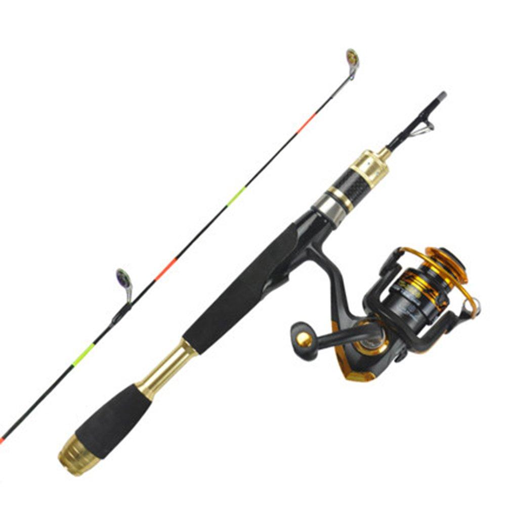MAZHONG 釣り竿 釣り竿 0.8メートル B07H79FCNM ショートアイススピニングホイール 0.8メートル B07H79FCNM, kanaemina:6ad6293d --- ferraridentalclinic.com.lb
