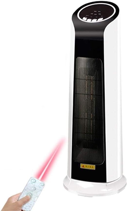 LTJX Ventilador Torre, 200W Calefacción Termostato con Oscilación ...