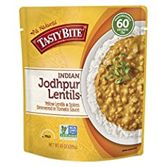 Jodhpur is known as the Sun City in India, and our Jodhpur Lentils reflect this warm disposition. We slow-cook yellow lentils to creamy perfection with savory undertones of garlic, cumin, turmeric, and chili pepper. Serve over rice or use as ...